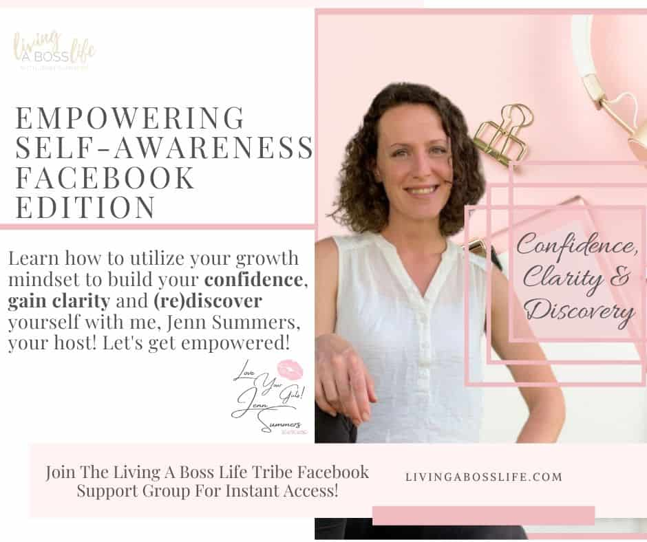 Empower your mindset with our complimentary 5 day course. Join our facebook group to gain instant access to video training, worksheets and coaching support from life coach Jenn Summers!