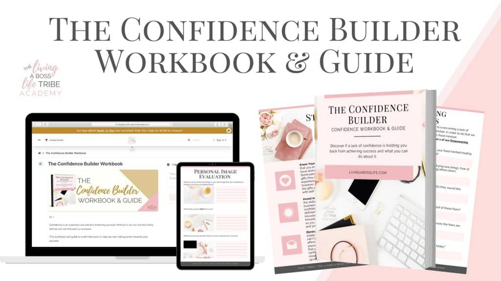 The Confidence Builder Workbook & Guide. It's time to do something for you! If you feel like you have lost your confidence, your clarity and are ready to start rediscover your purpose take action now and get the first step to control of your mindset!
