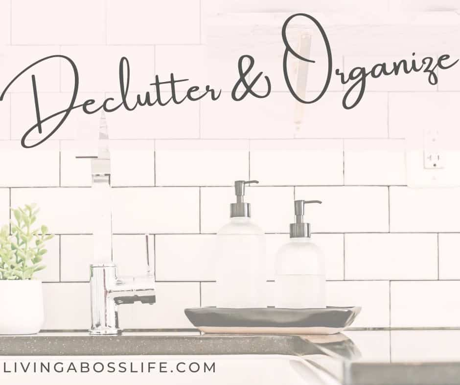 Declutter & Organize to help eliminate stress and anxiety from your home, from your office and form your digital world!