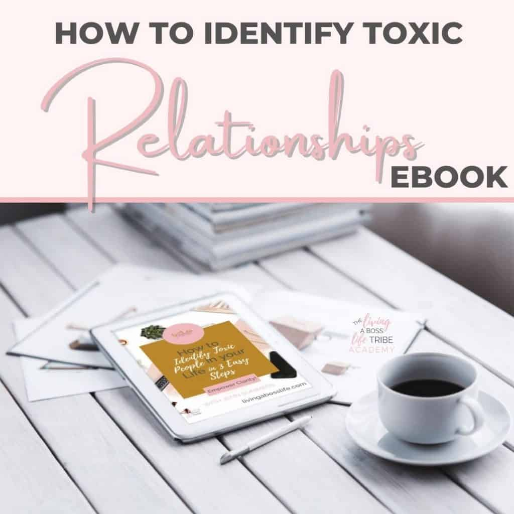 Are you struggling with identifying how toxic the relationship is to you?Self-love is one of the most important core elements of our lives. Distancing ourselves from these relationships is one more way to love yourself even more. Learn how to identify toxic relationships in this complimentary eBook.