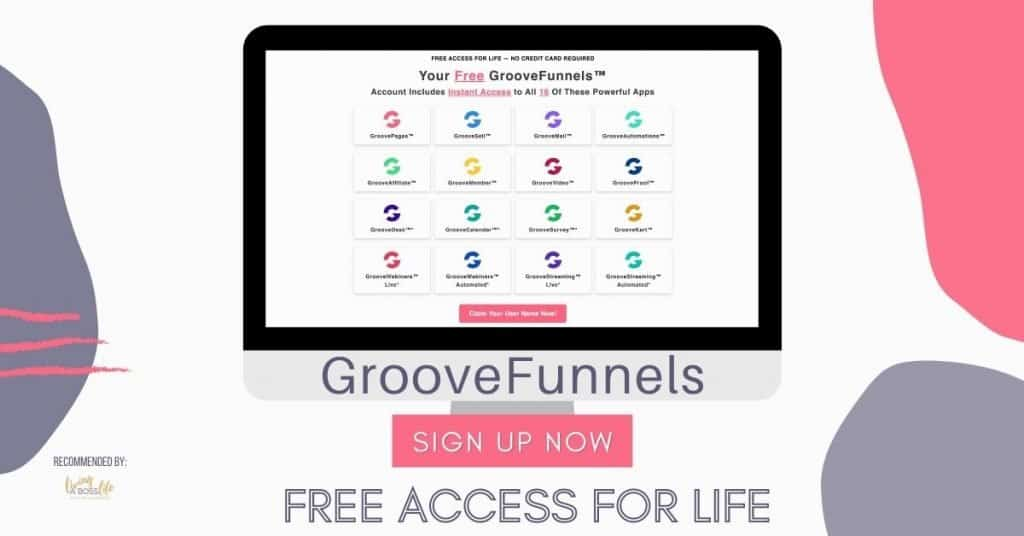 GrooveFunnels is your 16 in 1 business tool that makes monetizing easy. Sign up for a free account and start digging in. Lifetime upgrade options available as well for a more affordable all in one solution. #Sales #Funnels #TripWires #EmailMarketing #Affiliates #Webinars #Surveys #Cart