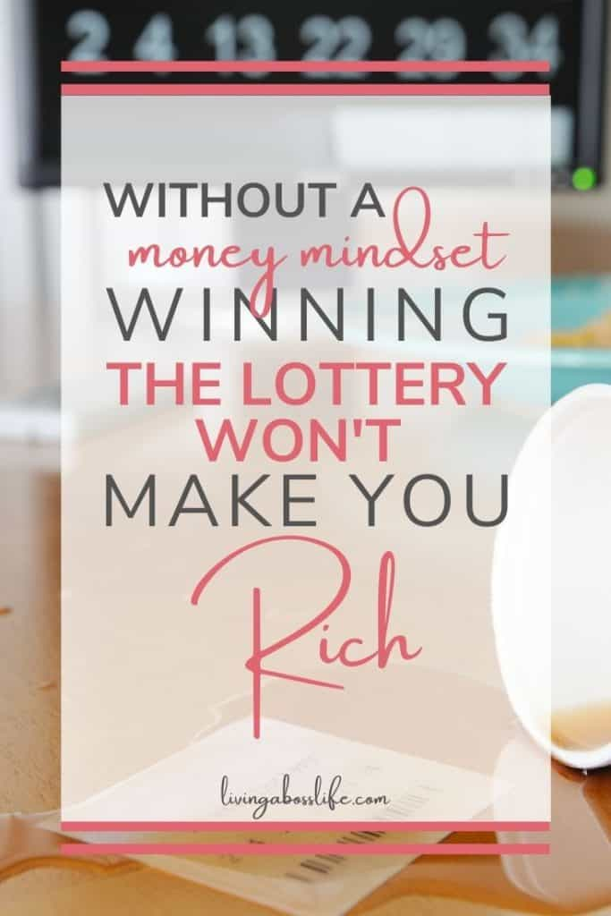 Just like all things in life if we do not prepare for them and if we do not build our mindset to accept them we can not achieve them. When these amazing experiences happen we will not be empowered by them instead they will slip through our fingers escaping us.#GetRichStayRich #MoneyMindset #WinningTheLottery #ManifestingMoney