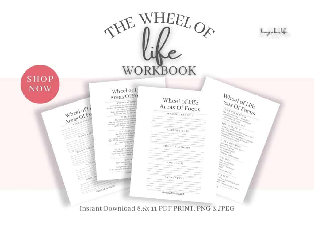 The Wheel of Life Workbook is a guide to life wheel balance. with great assessment comes discovery and clarity but it's not always easy to know where to start. Don't worry I have got you!All my personal development sheets are made with you in mind!Self-help is really popular right now and that is why I have taken my life coaching skills to a new level with products that help you find life balance while reaching your life goals and keeping motivated.