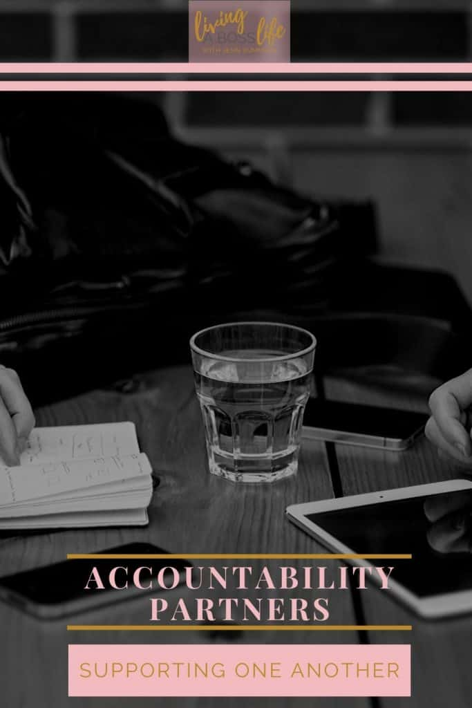 An accountability partner is someone who can help you to stay on task and ensure you don't put yourself in the situation where you are scrambling at the finishing line to accomplish your tasks. This responsibility is equally reciprocated between both parties.
