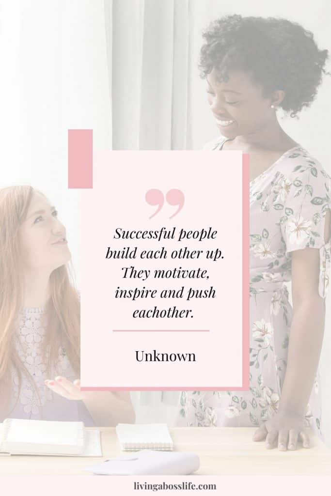Successful people build each other up. They motivate, inspire and push each other -author unknown. Let us show you how to conquer your goals successfully with these easy to implement actions! #goals #2020goals #NewYearsResolutions #HowToAchieveYourGoals #GoalWorkbook #GoalPlanner #SMARTGoals #AccountabilityPartners