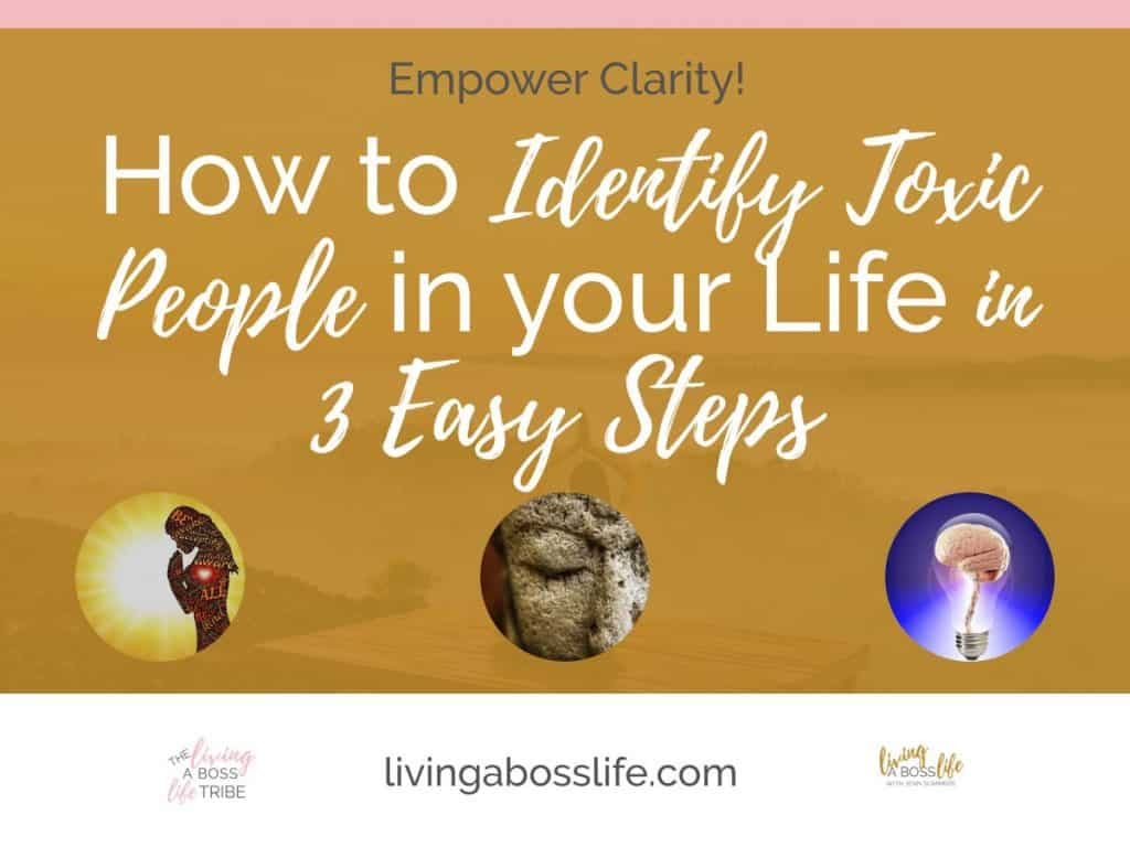 Do you have someone in your life always bringing you down? Learn how to identify toxic people in your life and ways protect yourself from their toxicity!