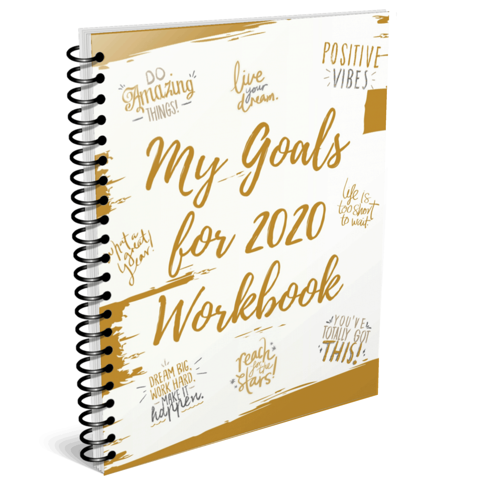 My goals workbook mock up
