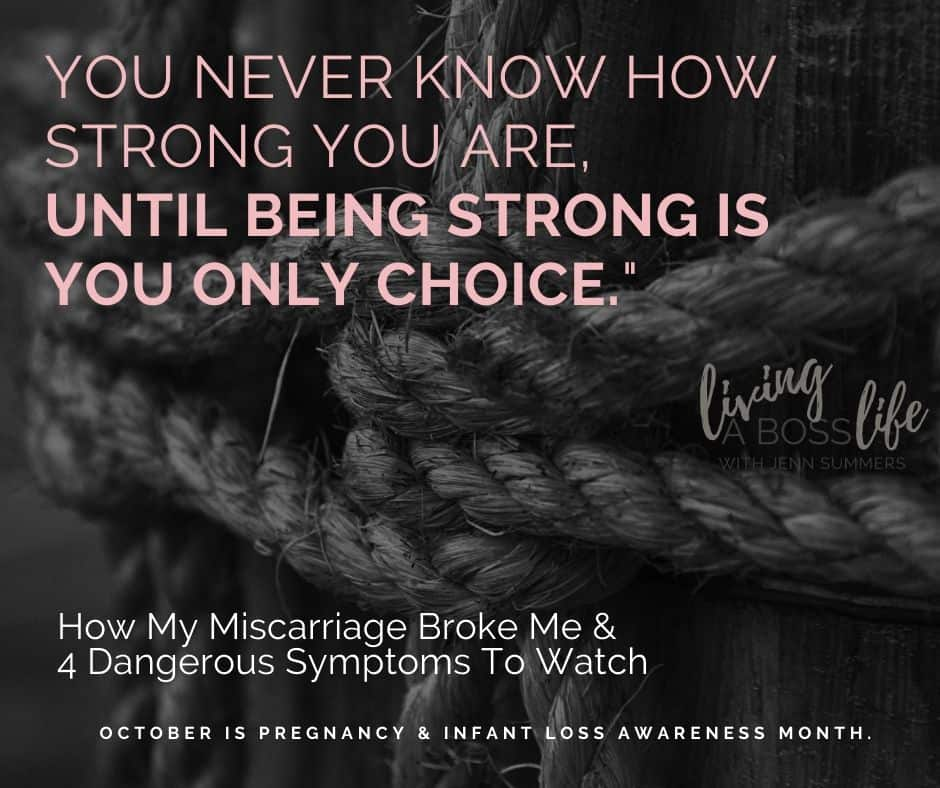"""You Never know how strong you are, Until being strong is you only choice."""" Motivational quote about finding strength."""