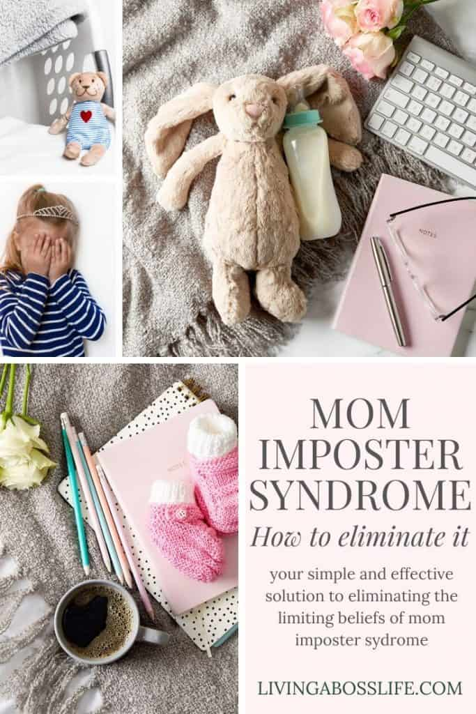 Do you suffer from mom imposter syndrome? Do you constantly feel like you are not doing enough for your children? Are you burnt out and tired of hating on yourself? Learn how to cope with mom imposter syndrome and start parenting without the limiting beliefs that are draining you as a mom!
