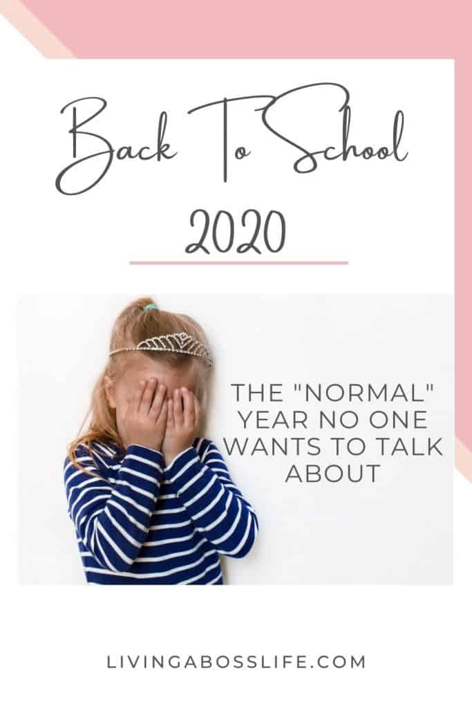 As we look towards back to school 2020 we are faced with some tough decisions and not everyone can seem to agree. What no one wants to talk about this not-so-normal year.