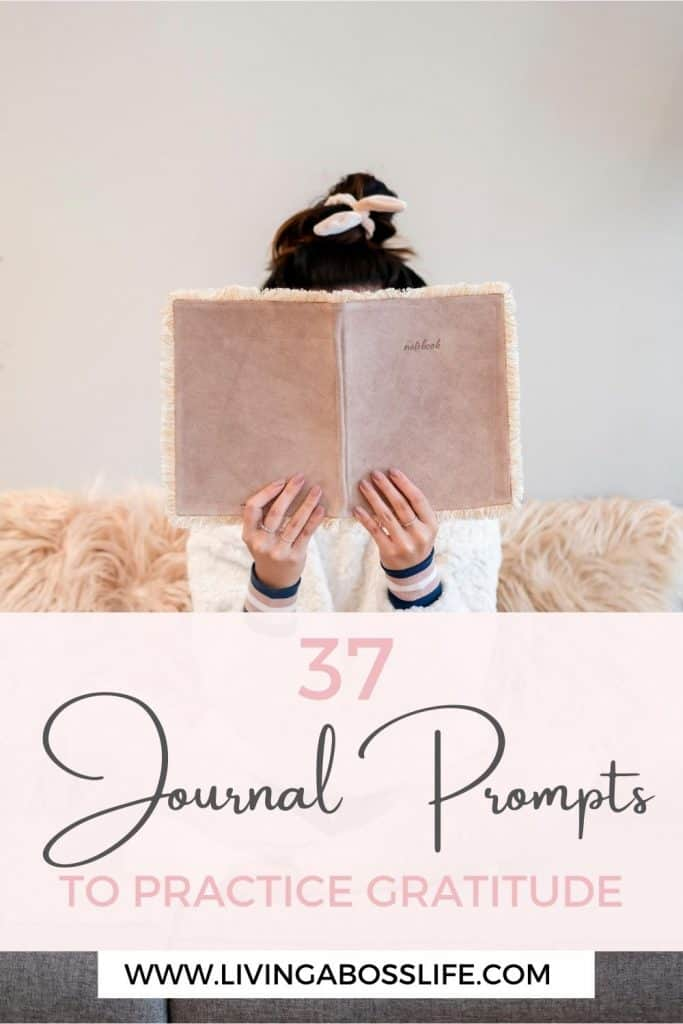 37 Journal Prompts to practice Gratitude and Start Your Day With Joy. Bring joy and happiness into your day with these beautiful empowering affirmations. These 37 gratitude affirmations will brighten your day and empower your mindset #JournalPrompt #Gratitude #Happiness #Affirmations #DailyAffirmations #GratitudeJournal #PersonalDevelopment #Mindset #SelfCare