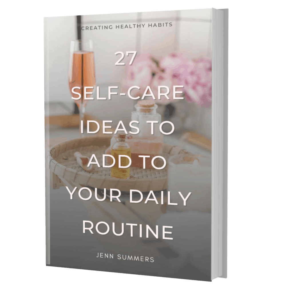 27 self-care ideas you can add to your everyday busy routine no matter how much you are on the go. Love yourself today and evryday!