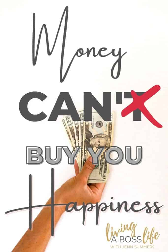 """As the old saying goes """"Money Can't Buy You Happiness"""" I call bullshit! Learn why and how you can start fixing your money mindset with empowering your financial wellbeing. It's time to stop living pay check to pay check in order to do that you need to work on your money mindset. Free workbook inside!"""