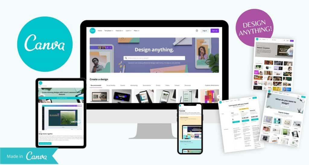 My favourite tool of all time is Canva! This amazing designer tool is so easy to use and has endless options for you to showcase your brand no matter your style. At the top of every entrepreneur's wish list there should be one design tool that wins it all. This is my tool for my online business must-have products.