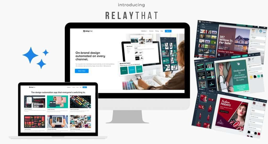 RelayThat is an incredibly easy to use tool to make graphics quick and easy. If you are short on time or new to creating graphics then these built in templates are for you! They make it super quick to make all the graphics you need in various sizes quickly and easily so you can move on to other more important aspects of your business.