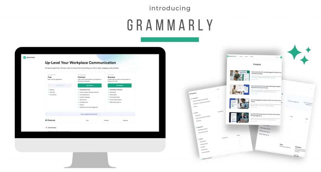 Grammarly is an essential tool if you are blogger, writer, content creator or professional entrepreneur. We all want to make sure we do not have silly little errors in our work and Grammarly helps take care of that. Best of all this amazing tool is free for everyone. You can upgrade to get all their amazing features to make your writing even better too!