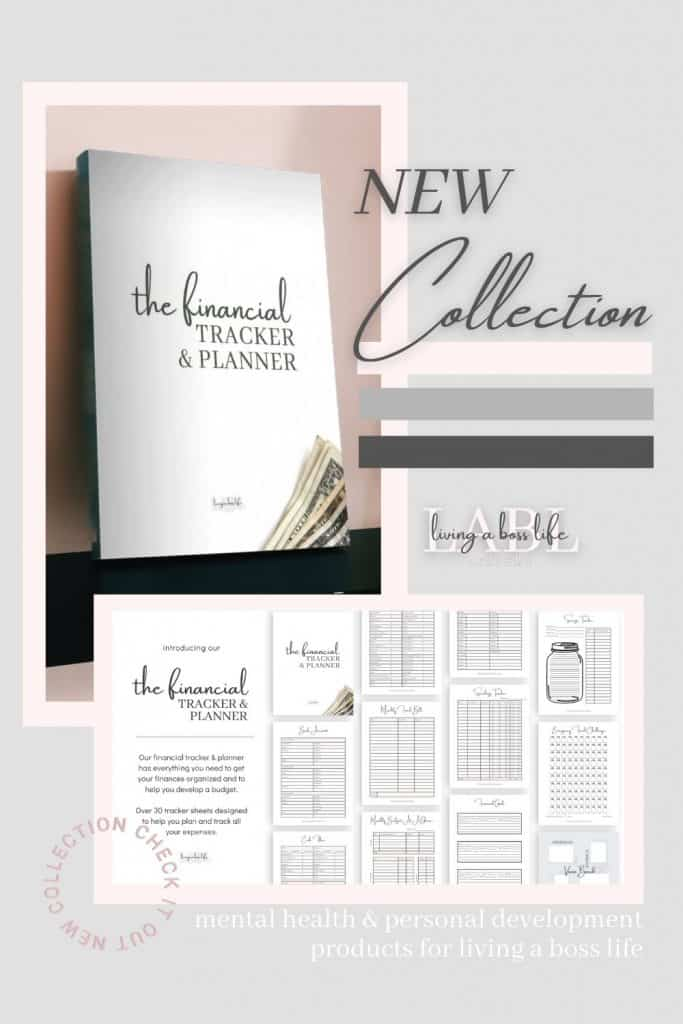The Financial Tracker & Planner has over 30 pages of worksheets to help you track your finances and start living a boss life financially. Get clear insights on where you are spending money, what bills need to be paid, how to save for the future and so much more.7 sections include trackers inpersonal information,finances overview,monthly tracking,tracking sheets,financial goals,savings & challenges and avision board! #BudgetTracker #FinancialPrintable #FinanceWorkSheets #ExpenseTrackers #SavingsChallenge #MoneyTrackers #FinancialGoals #MoneyMindset