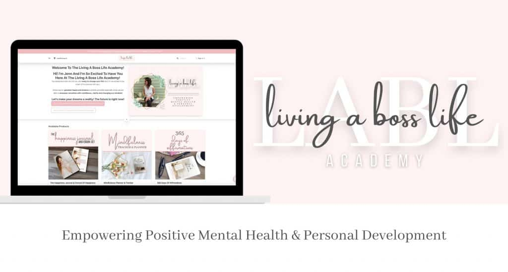 Living A Boss Life Academy Empowering Positive Mental Health & Personal Development​ #Happiness #Positivity #StressElimination #Confidence #Relaxation #SelfCare