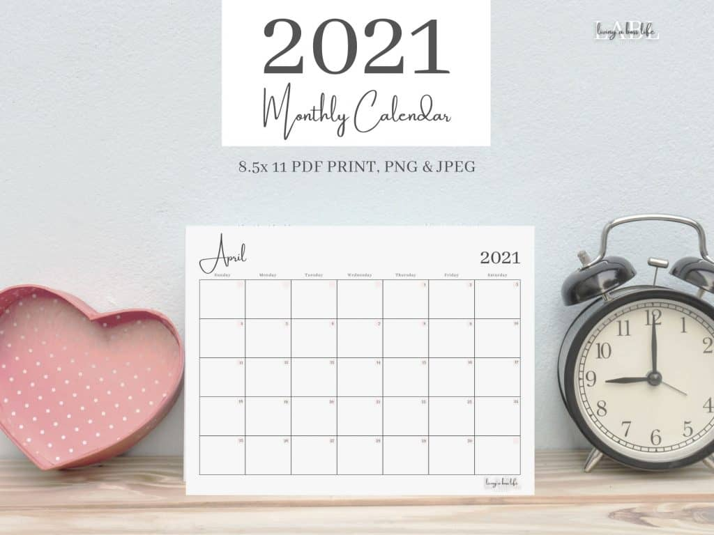 Have you been looking for a dated 2021 calendar that is sleek, chic and ready to go? Look no further! 2021 Monthly Calendar | Digital | Printable | Dated Calendar | Monthly Calendar | Professional | 2021 Dated Calendar Monthly Dated CalendarStaying on task doesn't have to be blah!Print as many copies as you need with our personal use digital product.One for the office, one for your side hustle, one for school, one for monthly bills, one for doctor's appointments, one for whatever you need!Never miss an important date again!