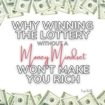 We all love to dream of winning the lottery, but have you wondered why some people were not able to change their lives with the winnings? Let's talk money mindset and why you should work on yours BEFORE you get rich #GetRichStayRich #MoneyMindset #WinningTheLottery #ManifestingMoney