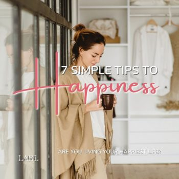 What is happiness to you? Sometimes it is difficult to live in the moment and discovery your happy place. These 7 simple tips to happiness will help you start living a happier life right now.