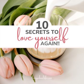 10 secrets to falling in love with yourself...AGAIN! Self-doubt, limiting beliefs and lack of self-confidence can really drag us down. These 10 Secrets can you change your confidence and love yourself again! #SelfLove #SelfCare #SelfDoubt #LimitingBeliefs #Confidence #SelfConfidence #FallInLoveWithYourself #Affirmations #Gratitude #Happiness #Empowerment #PositiveThinking #PositiveMentalHealth #PersonalDevelopment