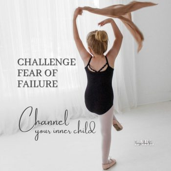 The fear of failure has held everyone back at one time or another and it will continue to hold YOU back until you learn to channel your inner child. Learn more...#FearOfFailure #Childhood #Mindset #Success #Discovery #LimitingBeliefs #Confidence #Empower
